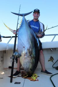 Big Tuna off the island of Tres Marias