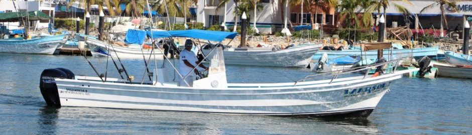 The Gabriela Super Panga Sportfishing Boat