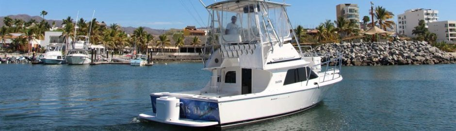 On board the Dhamer II for a sportfishing trip